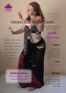 Klára Břišní tance - ukázková lekce